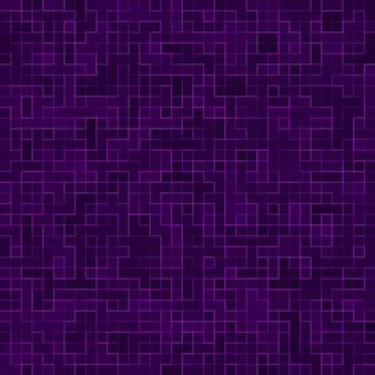 Mosaico quadrado roxo brilhante para fundo textural