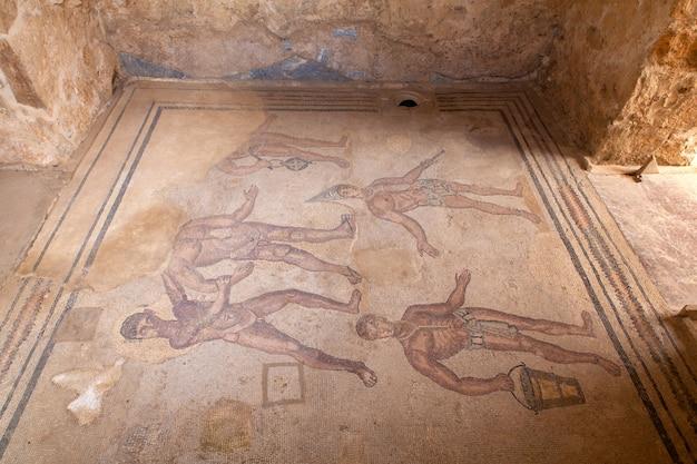 Mosaicos da villa romana del casale, piazza armerina