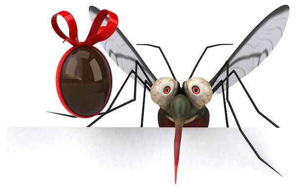 Mosquito - ilustração 3d