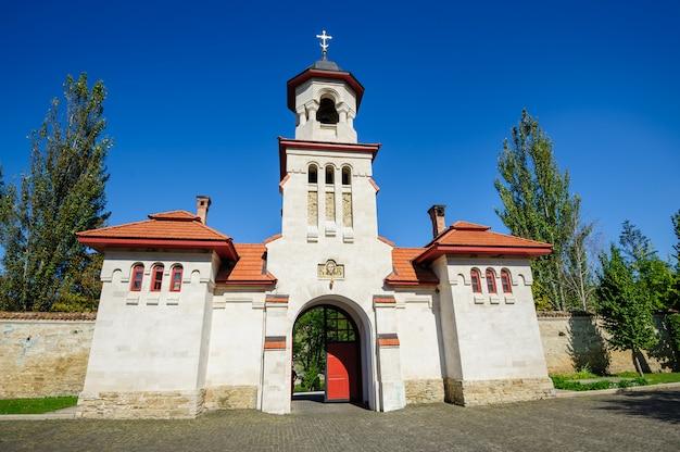Mosteiro cristão ortodoxo de curchi, moldávia