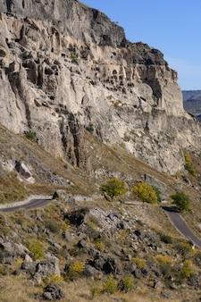 Mosteiro da caverna de vardzia, geórgia