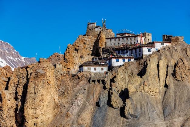 Mosteiro de dhankar, vale spiti, himachal pradesh