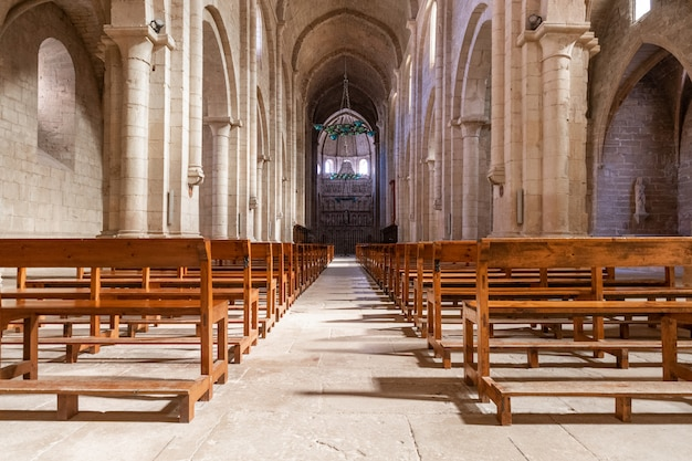 Mosteiro de poblet, em tarragona, catalunha, espanha