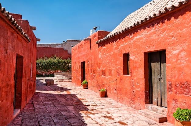 Mosteiro de santa catalina de siena em arequipa, peru