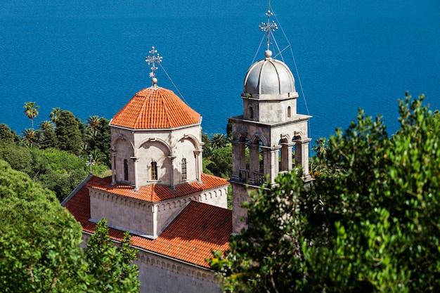Mosteiro de savina em herceg novi