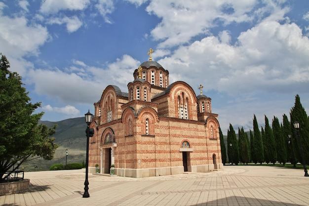 Mosteiro de trebinje na bósnia e herzegovina