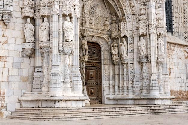 Mosteiro dos jerónimos, em lisboa, portugal.
