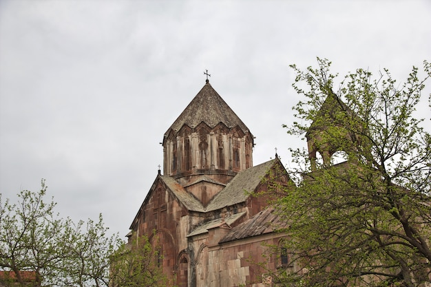 Mosteiro gandzasar em nagorno - karabakh, cáucaso