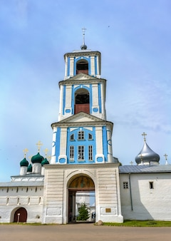 Mosteiro nikitsky em pereslavl-zalessky - região de yaroslavl, o anel de ouro da rússia