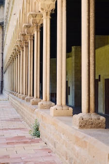 Mosteiro pedralbes em barcelona.