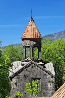 Mosteiro sanahin nas montanhas do cáucaso, armênia
