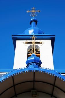 Mosteiro ulmu em sihla, moldávia em um dia ensolarado
