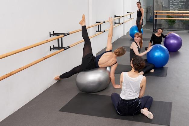 Mostrando novo exercício