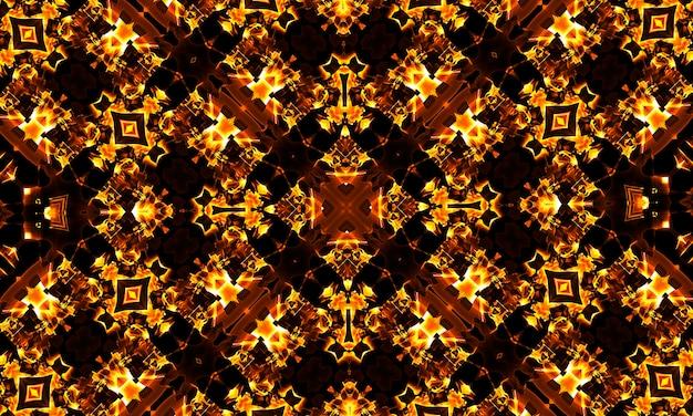 Motivo x do caleidoscópio cruzado legal abstrato, super resolução para o seu projeto