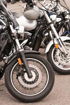 Motocicletas na rua