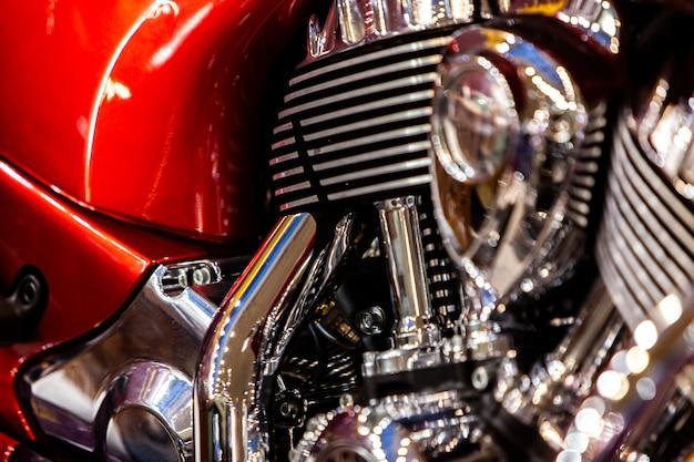 Motor da motocicleta
