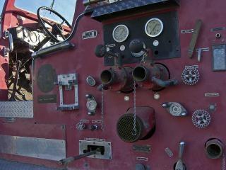 Motor de fogo longas em repouso
