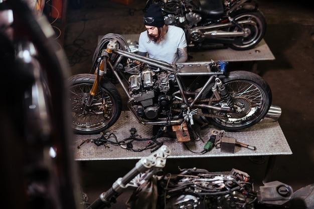 Motor de reparação