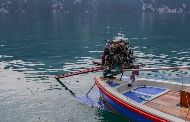 Motor pequeno barco