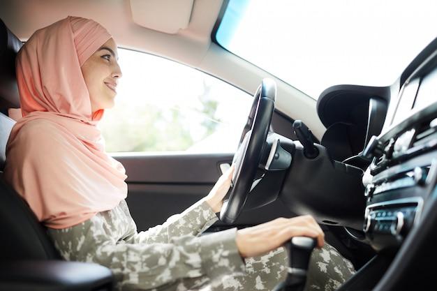 Motorista muçulmana