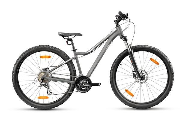 Mountain bike com rodas de 27,5 polegadas e quadro baixo especial para mulheres.