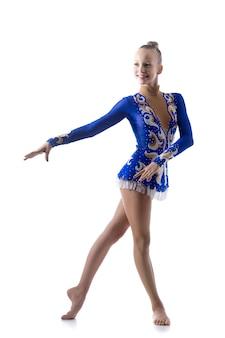 Movimento de dança elegante