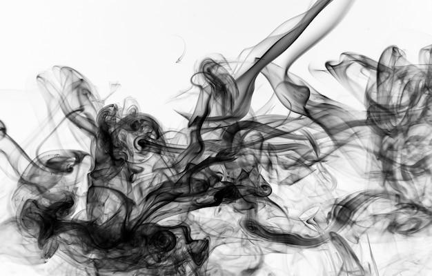 Movimento de fumaça tóxica.