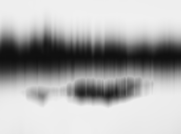 Movimento horizontal preto e branco borrão floresta abstrata com fundo de reflexão Foto Premium