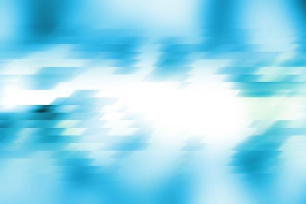 Movimento no fundo azul, fundo abstrato.