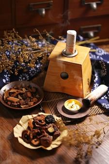 Moxabustão medicina chinesa