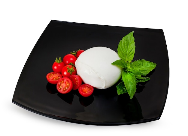 Mozzarella di bufala, produto lácteo típico da região da campânia, no sul da itália.