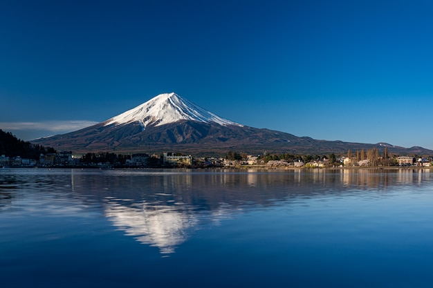 Mt. fuji no kawaguchiko fujiyoshida, japão.