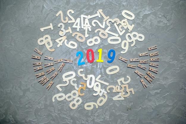 Mudança de número representa novo ano de 2019
