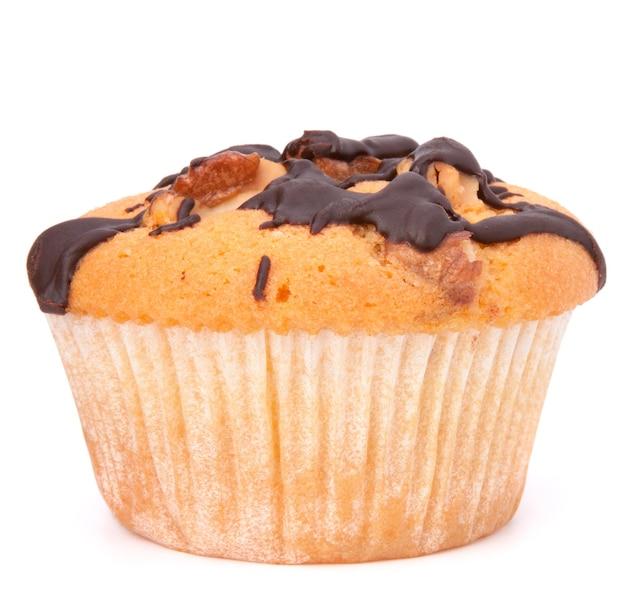 Muffin isolado em fundo branco
