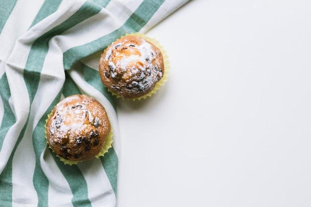 Muffins de chocolate caseiros