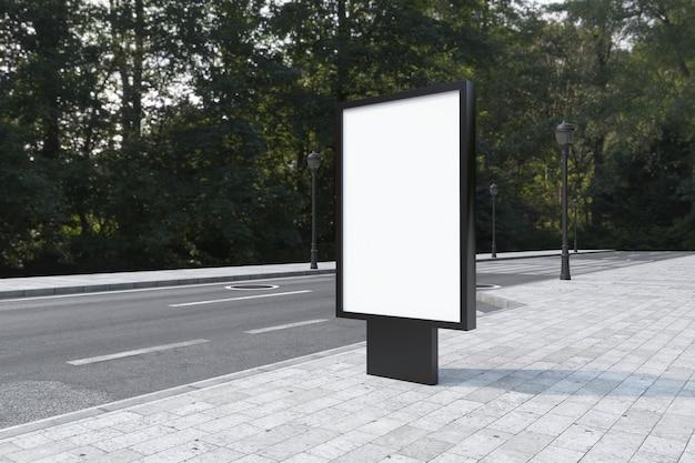 Mufi sign board mockup