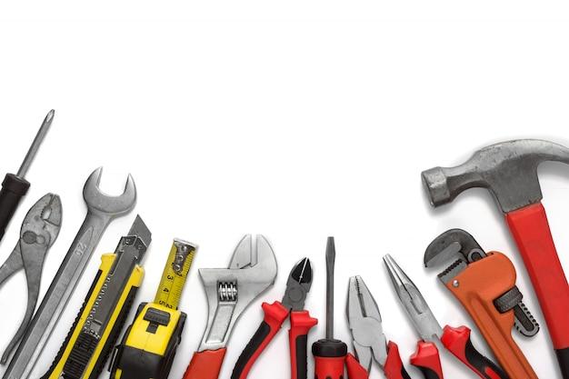 Muitas ferramentas isoladas