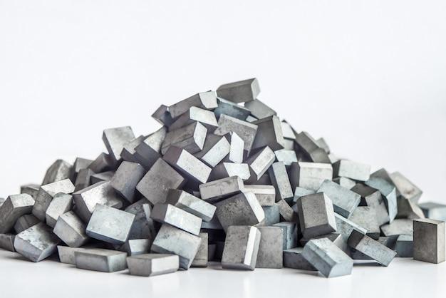Muitas placas soldadas quadradas de metal duro com carboneto de tungstênio, lâmina soldada, ferramenta de torno