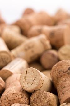 Muitas rolhas de vinho