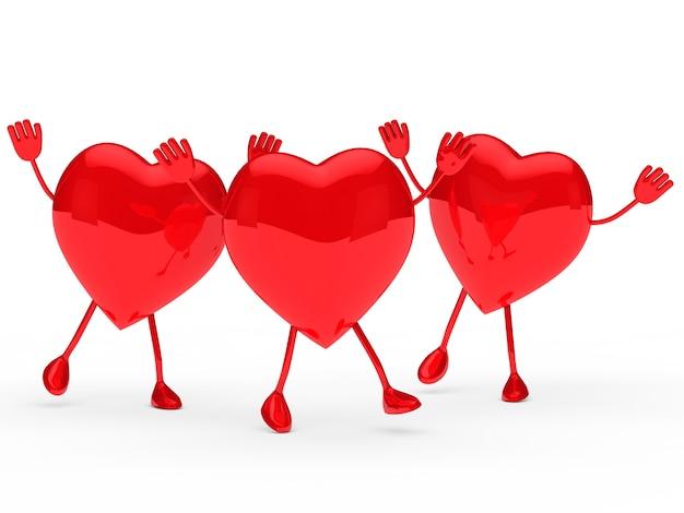 Muitos corações