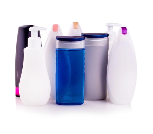 Muitos produtos cosméticos diferentes