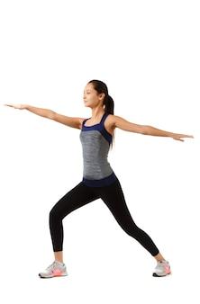 Mulher asiática fitness