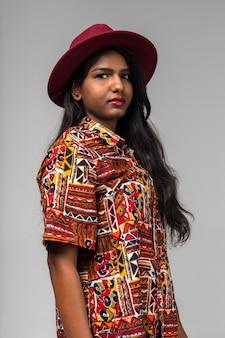 Mulher bonita indianl