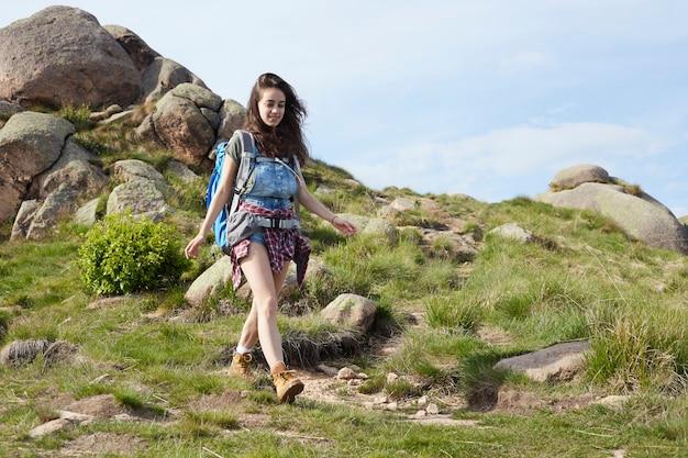 Mulher caminhante