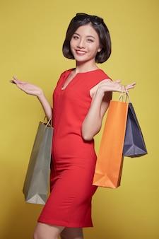 Mulher compra