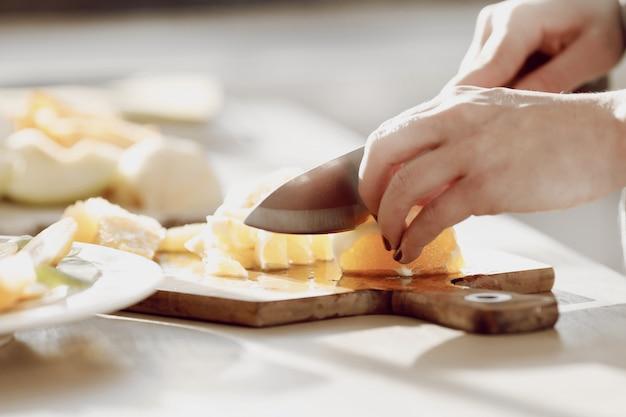 Mulher cozinha