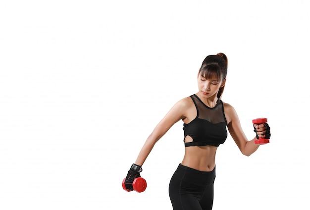 Mulher de fitness