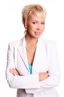 Mulher de negócios adulto linda