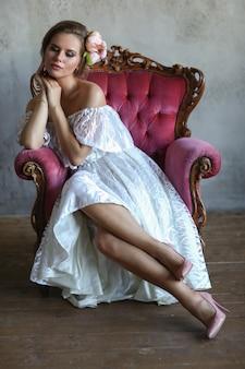 Mulher de vestido