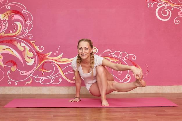 Mulher fazendo exercício